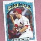 2013 Topps Series 2 David Freese 1972 Mini St Louis Cardinals # TM-52
