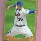 2013 Topps Baseball Series 2 Collin McHugh GOLD New York Mets # 529 / 2013 ROOKIE