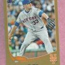 2013 Topps Baseball Series 2 Matt Harvey GOLD New York Mets # 577 /2013