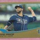 2013 Topps Baseball Series 2 David Price GOLD Tampa Bay Rays # 627 /2013