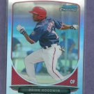 2013 Bowman Chrome Refractor Brian Goodwin Washington Nationals # BCP76 #D/ 500