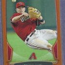 2013 Bowman Gold Aaron Hill Arizona Diamondbacks # 195 #D /250