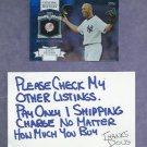 2013 Topps Mariano Rivera Chasing History New York Yankees # CH-9 Silver Foil Variation