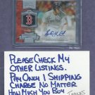2013 Topps Chasing History Brock Holt Boston Red Sox # CHA-BH Autograph Auto Signed