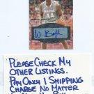 2012 Fleer Mystique William Buford Auto Autograph Ohio State Buckeyes # MFI-WB