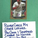 2013 Bowman Gold Ryan Howard Philidelphia Phillies # 190