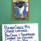 2013 Bowman Gold Dustin Pedroia Boston Red Sox # 7
