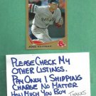 2013 Topps Gold Jose Iglesias Red Sox Detroit Tigers # 432 #D 1341/2013
