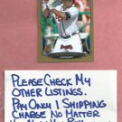 2013 Bowman Gold Justin Upton Atlanta Braves Detroit Tigers # 11