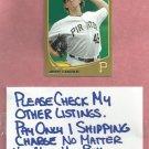 2013 Topps Gold Geff Locke Pittsburgh Pirates # 372 #D/ 2013