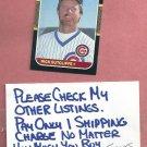 1987 Donruss Rick Sutcliffe Chicago Cubs # 68
