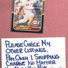 1987 Donruss Dave Parker Cincinnati Reds # 388