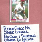 2013 Topps Archives Ozzie Smith St Louis Cardinals # 70