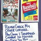 1982 Topps Coke Ron Oester Cincinnati Reds Oddball # 16