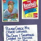 1982 Topps Coke Alex Trevino Cincinnati Reds Oddball # 21
