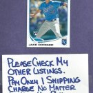 2013 Topps Jake Odorizzi Kansas City Royals # 232 Rookie