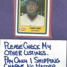 1990 Swell Larry Doby Cleveland Indians # 43 Oddball