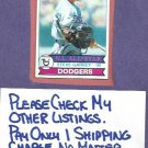 1979 Topps Steve Garvey Los Angeles Dodgers # 50