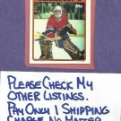 1987 88 Topps Patrick Roy All Star Sticker Canadiens # 12