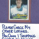 1989 Topps Traded Randy Johnson Rookie Seattle Mariners #57T