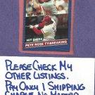 1986 Donruss Pete Rose Cincinnati Reds # 644