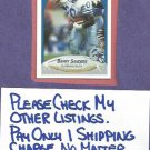 1990 Fleer Barry Sanders Detroit Lions # 284