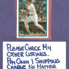 1985 Topps All Star Set Don Mattingly New York Yankees Oddball # 27