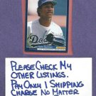 1994 Score Pedro Martinez Dodgers Red Sox Rookie # 554