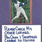 2000 Upper Deck Black Diamond Night Sammy Sosa Chicago Cubs # M5 Insert