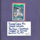 1990 Score Rising Star Sammy Sosa White Sox Cubs # 35 Rookie