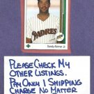 1989 Upper Deck Sandy Alomar Jr Padres Indians Rookie # 5