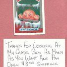 1987 Topps Garbage Pail Kids Series 9 Jack Frost # 372a