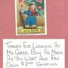 1987 Topps Garbage Pail Kids Series 9 Dam Dan # 347a