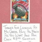 1987 Topps Garbage Pail Kids Series 9 Shrap Nell # 365a