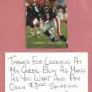 1997 Topps Stadium Club Corey Dillon Cincinnati Bengals Rookie # 191