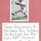 1999 Pacific Paramount Jamal Anderson Atlanta Falcons Holo Silver # 11 #D / 99