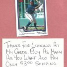 2004 Topps 1st Edition Brayan Pena Atlanta Braves Rookie # 300