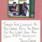 1999 Pacific Omega Torii Hunter Minnesota Twins Rookie # 141