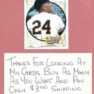1993 Upper Deck Baseball Heroes Willie Mays Giants # 48