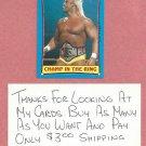 1987 Topps WWF Hulk Hogan #37 WWE