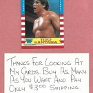 1987 Topps WWF Tito Santana # 6 WWE