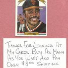 1982 Donruss Diamond Kings Joe Morgan San Francisco Giants # 24