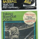 1989 CMC Talking Baseball Cards Babe Ruth 1947 Farewell Speech New York Yankees # 5