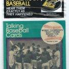 1989 CMC Talking Baseball Cards Bobby Thompson NY Giants Shot  # 12