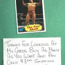1985 Topps Wrestling Card WWF The Iron Shiek # 2 WWE