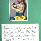 1985 Topps WWF Wrestling Card Jesse The Body Ventura # 11 WWE