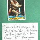 1985 Topps WWF Wrestling Card Hulk Hogan # 29 WWE TNA WCW