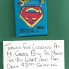 1981 Topps Superman 2 Movie Cards Unopened Wax Pack