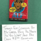 1987 Topps ALF Series 2 Trading Cards Unopened Wax Pack