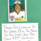1984 Topps Glossy All Star Gary Carter Expos # 20
